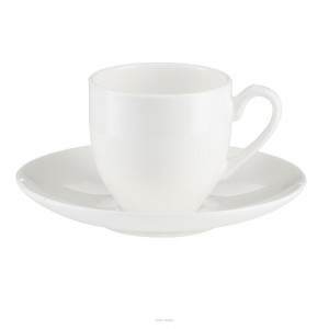 Porcelana Villa Italia - Boston - Filiżanka do espresso 100 ml ze spodkiem